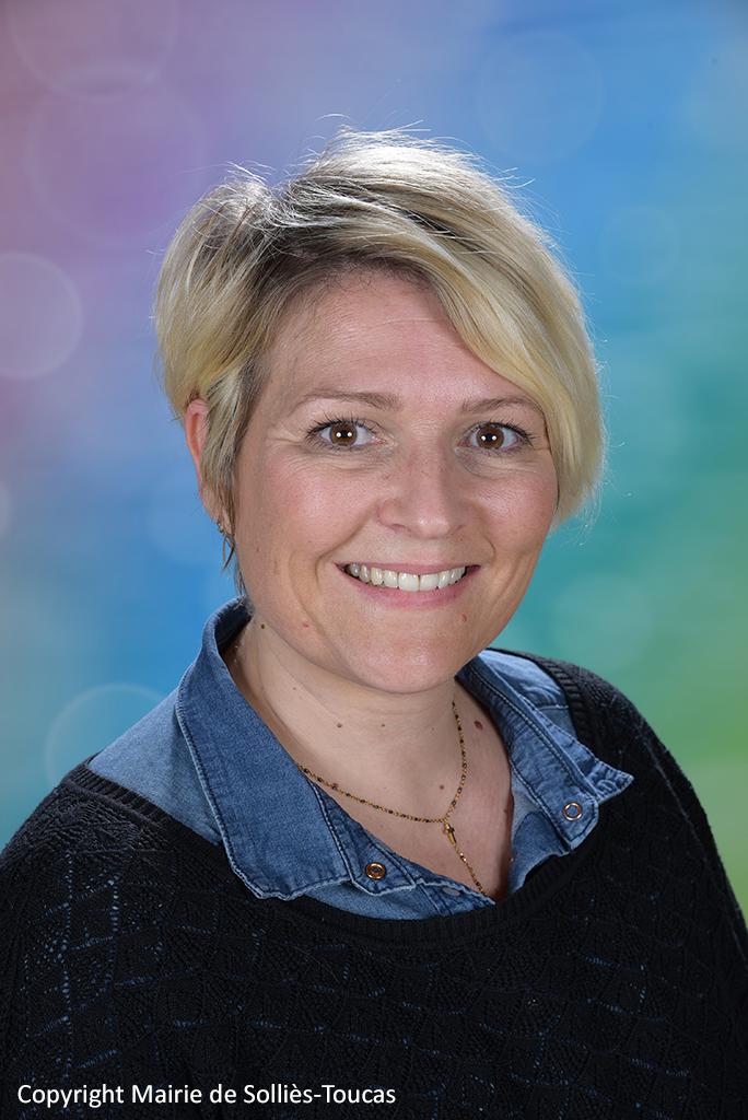 Audrey PANIGOT  5ème adjointe Déléguée à l'éducation et la jeunesse