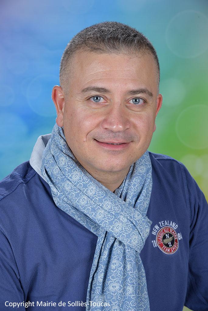 Luciano ROBERTI  6ème adjoint Délégué à la sécurité et à la vie des quartiers
