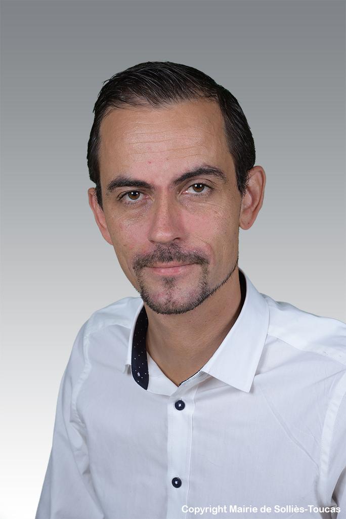 Ludovic ESTAMPE  délégué à la jeunesse