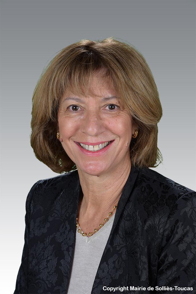 Monique MARTINEZ   1ère adjointe Déléguée à la cohésion sociale et au personnel communal
